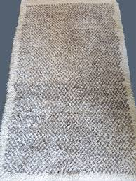 anatolia konya karapinar tribal all undyed natural wool rug