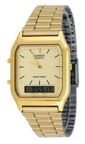 cheap casio aq 230 price casio aq 230 price deals on line at get quotations · casio aq230ga 9d men s analog digital dual time gold tone metal band watch