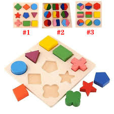 Kids <b>Baby Wooden</b> Learning Geometry Educational <b>Toys Cartoon</b> ...