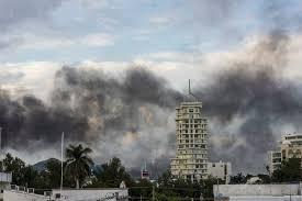gunbattles rattle mexican city after