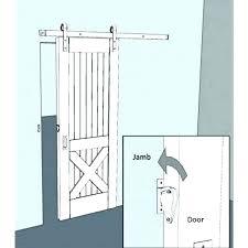 sliding barn door latch gate door latch step attach latch to frame and your barn door sliding barn door latch