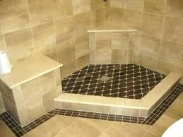 replacing shower floor tile name shower views size how to install bathroom