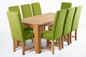 green upholstered chairs. Green Dining Chair 6 Solid Oak Table And Chairs Upholstered Oasis.jpg E