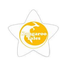 kangaroo tales star sticker craft supplies diy custom design supply special