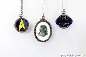 diy cameo necklaces made with shrinky s