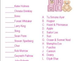 Best Baby Shower GamesFamous Mothers Baby Shower Game