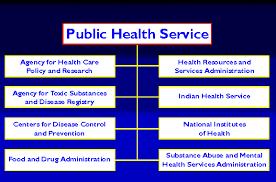 Public Health Service Organization Chart Health Care For