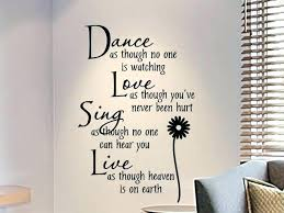wall phrase decals bedroom wall writing wall decals for teens girls bedroom wall decal as wall phrase decals