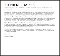 American Resume Cover Letters Cabin Crew Sample Cover Letter Cover Letter Templates