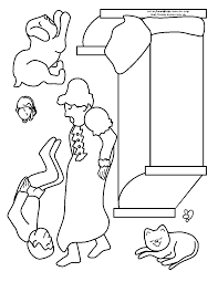 The Napping House Coloring Page - Coloring Home