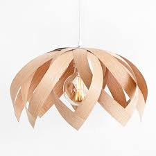 wood veneer lighting. lotus oak wooden veneer light by yndlingsting made in denmark on crowdyhouse lamp wood lighting