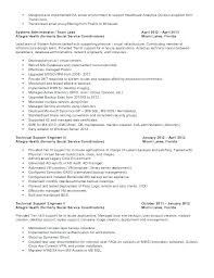 Technical Support Resume Samples Technical Support Resume Sample