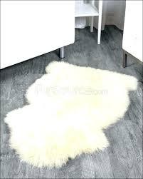 small faux fur rug usa club