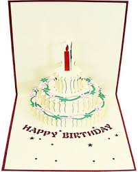 New Deal Alert Dl Furniture Pop Up Greeting Card Happy Birthday