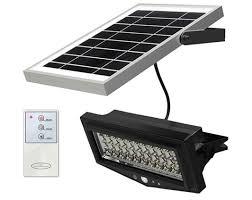 Led Solar Alarm Wandlamp Op Zonne Energie