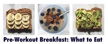 what to eat before your morning workout