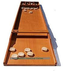 Dutch Game With Wooden Discs Amazon Set 100 Masters Dutch Shuffleboard Sjoelbak concave 36