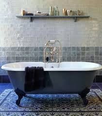 nothing beats a clawfoot tub except perhaps tuscan villa inspired tile