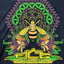 rocked this print for oregons constant gardener it s always fun to print great art