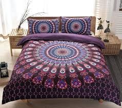 purple duvet covers alicemall exotic bedding set purple mandala bedding large paisley print bohemian style purple duvet cover sets king size