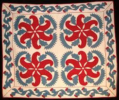 Exhibit to display inherited Mennonite and Amish quilts | Goshen ... & This appliqued Pennsylvania ... Adamdwight.com
