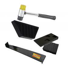 dynatex wood flooring laminate installation floor ing kit set tool soft mallet wedges bar
