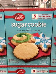 All the snacking without any of the baking. Betty Crocker Sugar Cookie Mix 5 17 5 Ounce Packages Costcochaser