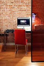 office wallpaper design. Home Office Wallpaper View In Gallery Add A Brick Wall To Your With . Design