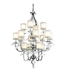 16 light chandelier lighting foyer in chrome touareg wide gold 6 crystal