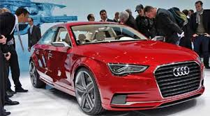 audi new car releaseAuto Expo 2014 Audi unveils the A3 sedan launch in Q3 this year