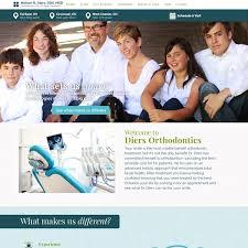 Dental Office Website Design Enchanting Orthodontist Websites WEO Media Dental Marketing Agency