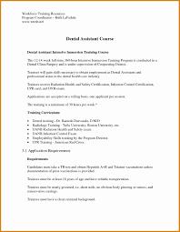 Sample Dental Assistant Resume Fresh Dental Assisting Cover Letter