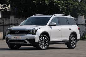 Gac Trumpchi Gs8 China Auto Sales Figures