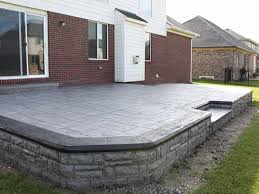 stamped concrete patio cost calculator. Paver Patio With Fire Pit Cost \u2013 Flooring Options Stamped Concrete Of Calculator A