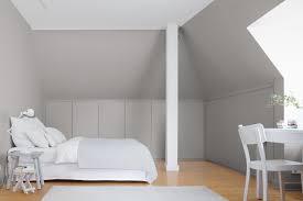 Kleine Zimmer Dachschrägen Optisch Vergrößern Alpina Farbe Wirkung