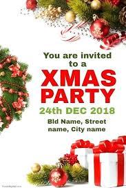Invitation Christmas Party Zoli Koze