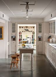 kitchen floor tiles with white cabinets. + ENLARGE. White Kitchen With Concrete Floor Tiles Cabinets
