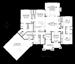 mascord house plans. Simple House Main Floor Plan For Mascord House Plans O