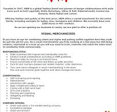 Resume For Retail Merchandiser Sample Resume For Retail