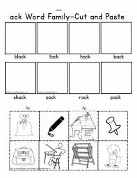 They can also be used with an interactive notebook or sent home for students to practice reading cvc words at home. Ack Cut And Paste Worksheet Worksheets