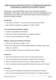 romeo and juliet essay plan act scene  conflict in act 3 scene 1 of romeo juliet by stephanieannmarshall