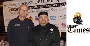 chef joe jirschele left and his istant robert kasten peted at the 2016 marshfield