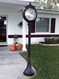 garden pedestal clock outdoor pedestal clock miller lamp post clock model outdoor pedestal clock garden of garden pedestal clock