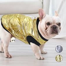 French Bulldog Winter Dog Clothes Coats ...