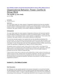 organizational behavior docx case study apollo program organizational behavior docx case study apollo program organizational behavior