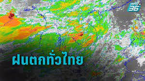 พยากรณ์อากาศวันนี้ อุตุฯ เตือน ฝนถล่มทั่วไทย - กทม.ฟ้าคะนอง 60% : PPTVHD36