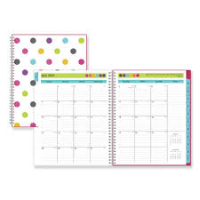 Teacher Dots Academic Year Cyo Weekly Monthly Planner 11 X 8 1 2 Assorted 2019 2020