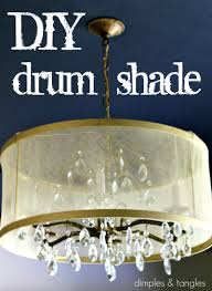 diy drum shade tutorial
