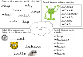 Free esl phonics worksheets (beginner to advanced): Phonics Worksheet Wh Teaching Resources