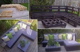 DIY Green Blog DIY Pallet Patio Furniture